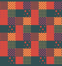 memphis tiles seamless pattern vector image