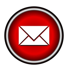 postal envelope sign e-mail symbol vector image