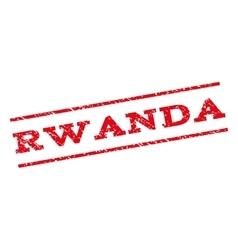 Rwanda Watermark Stamp vector