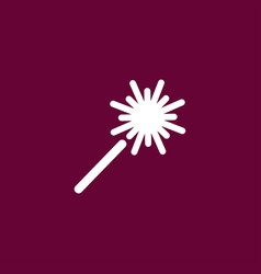 sparkler icon simple vector image