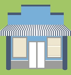 Store shop facade vector