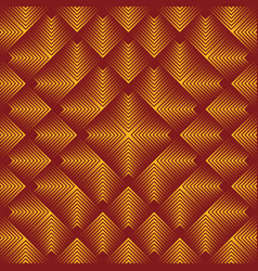 Abstract gold squares background vector