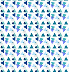 Seamless geometric patterntriangle pattern vector image vector image