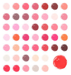 Watercolour blobs stains splashes vector
