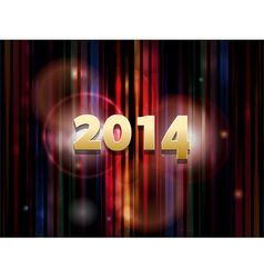 2014 abstract striped background vector image