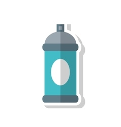 Color splash object tool design vector
