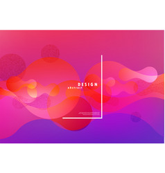 colorful fluid background abstract vector image