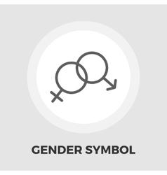 Couple flat icon vector image