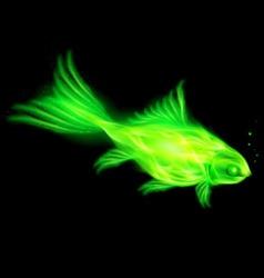 Fair Fish Green 01 vector image