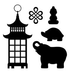 Feng Shui souvenirs vector image