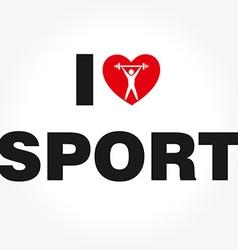 ILSport vector image