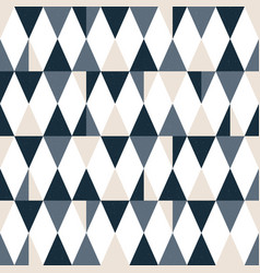 Seamless modern triangle pattern geometric vector