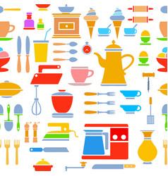 seamless tile pattern kitchen vector image