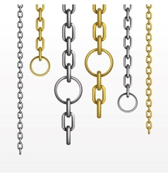 Set of Chains vector
