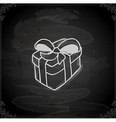 Hand Drawn Gift vector image vector image