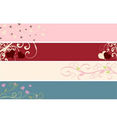 web banners vector image vector image