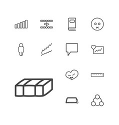 13 web icons vector