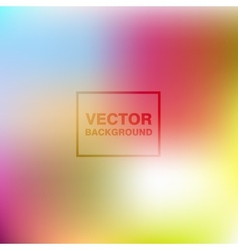 Abstract colorful blurred backgrounds vector image