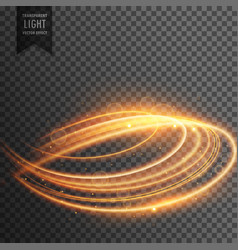 Abstract transparent light effect background vector