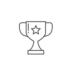 award related line icon vector image