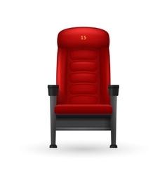 Cinema Seat vector image