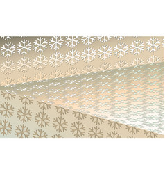 Cream-colored background new years christmas from vector