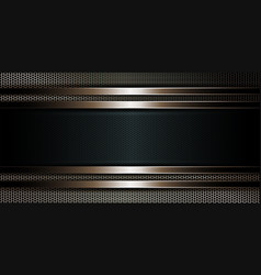 Geometric dark background as a metal grille with a vector