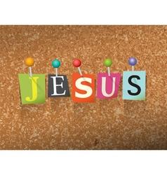 Jesus Concept vector