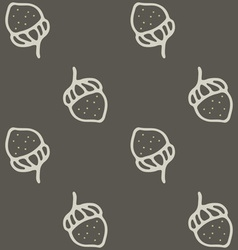Nuts seamless pattern art cartoon vector