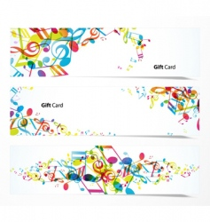 set of website banners vector image
