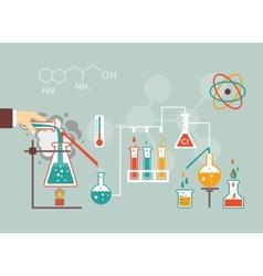 Chemistry demographic vector