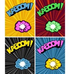 multi kazoo vector image vector image