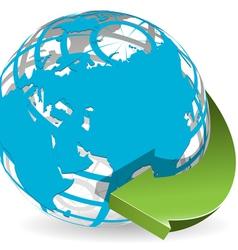worldwide vector image