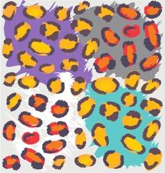 Wild Animal Pattern vector image vector image
