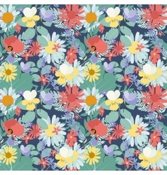 Abstract Natural Spring Seamless Pattern vector image vector image