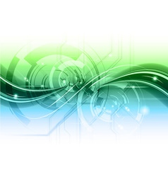 high technology background vector image