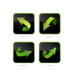 Abstract Arrows Set vector image
