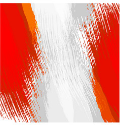 Grunge background in colors of the flag of peru vector
