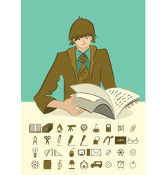 Icons person vector