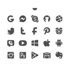 Logos well-crafted pixel perfect vector