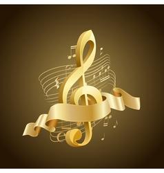 Musical key vector
