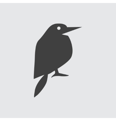 Nightingale icon vector image