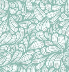 Abstract striped curls pattern vector image