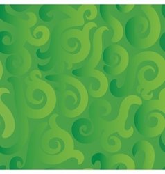 Green pattern vector image vector image