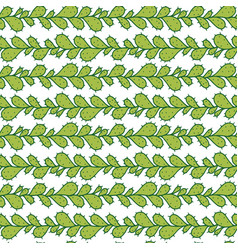 seamless pattern with prickly pear cactus vector image