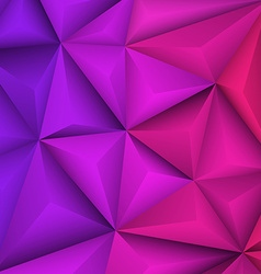 Abstract geometrical violet background vector image