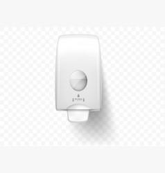 Dispensers liquid soap realistic isolated vector