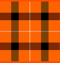halloween tartan plaid scottish cage background vector image