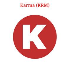 Karma krm logo vector
