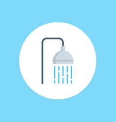 shower icon sign symbol vector image
